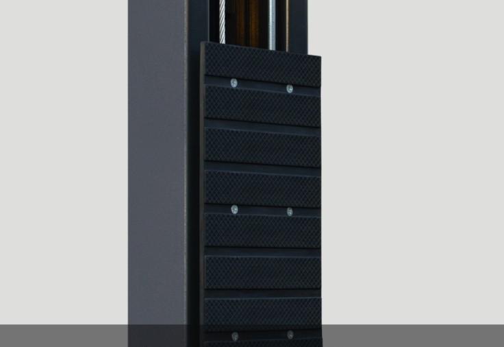 Door bumper, rubber protection