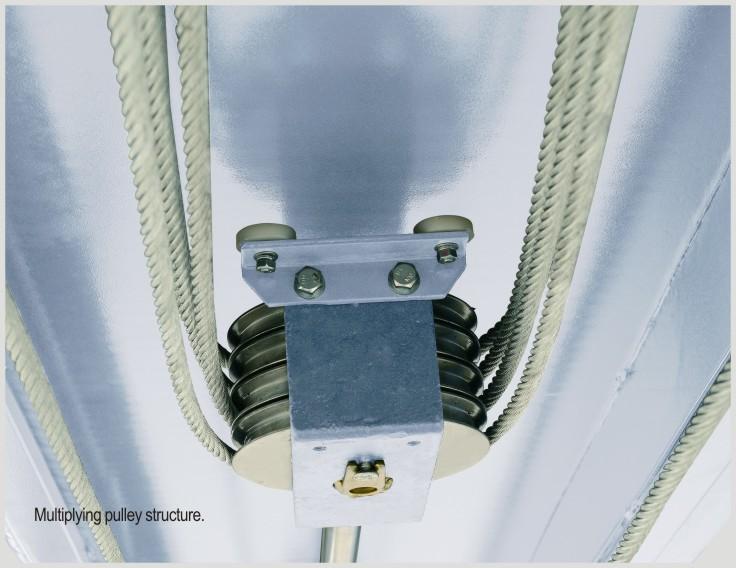 PH8XL multiplying pulley