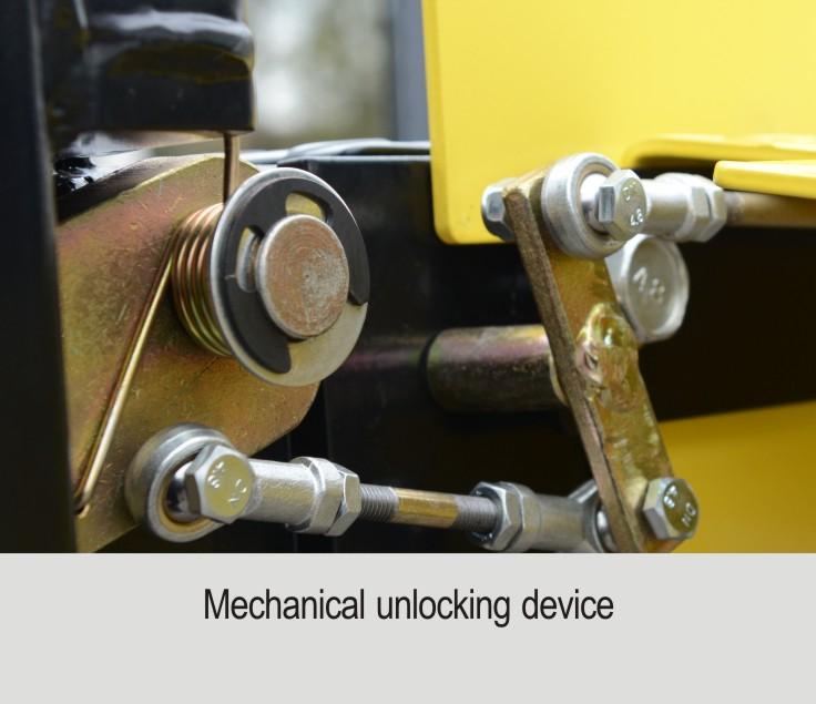 Unlocking mechanism