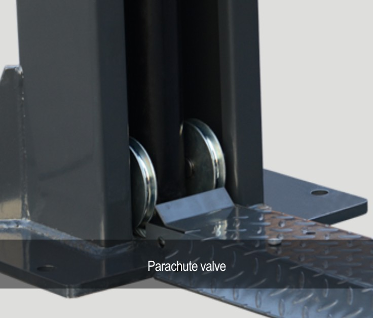 parachute valve